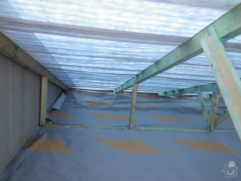 Technický dozor investora při realizaci střešní nástavby: IMGP7096
