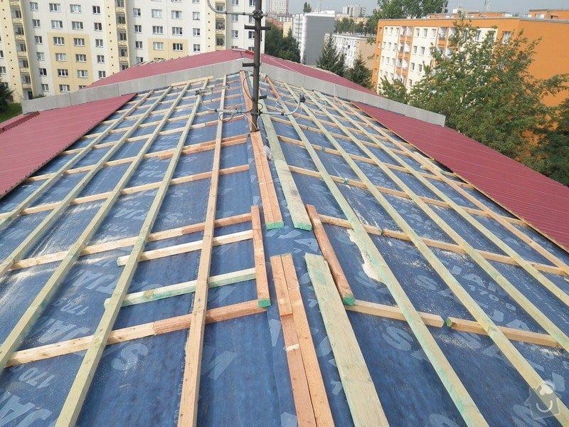 Technický dozor investora při realizaci střešní nástavby: IMGP7236