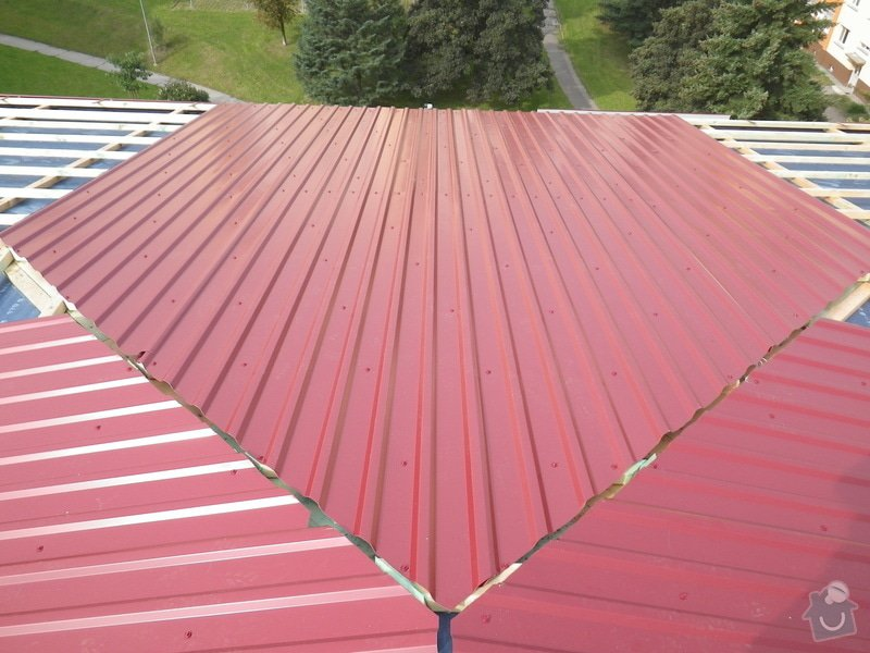 Technický dozor investora při realizaci střešní nástavby: IMGP7238