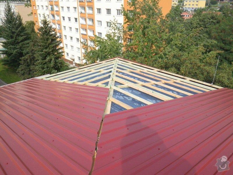 Technický dozor investora při realizaci střešní nástavby: IMGP7239