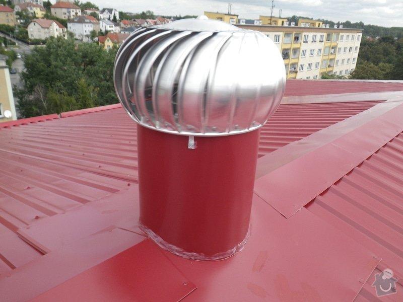 Technický dozor investora při realizaci střešní nástavby: IMGP7415
