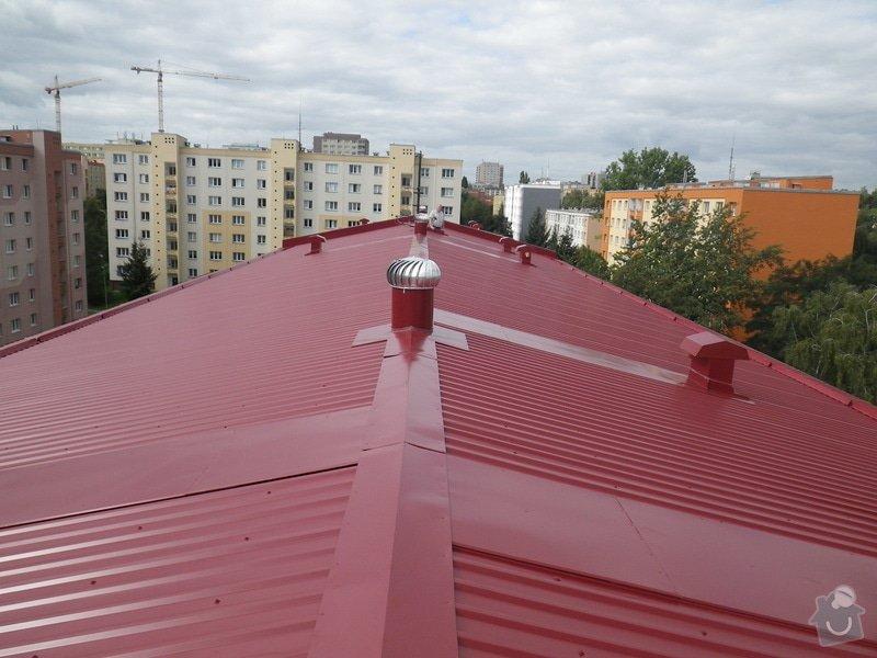 Technický dozor investora při realizaci střešní nástavby: IMGP7418