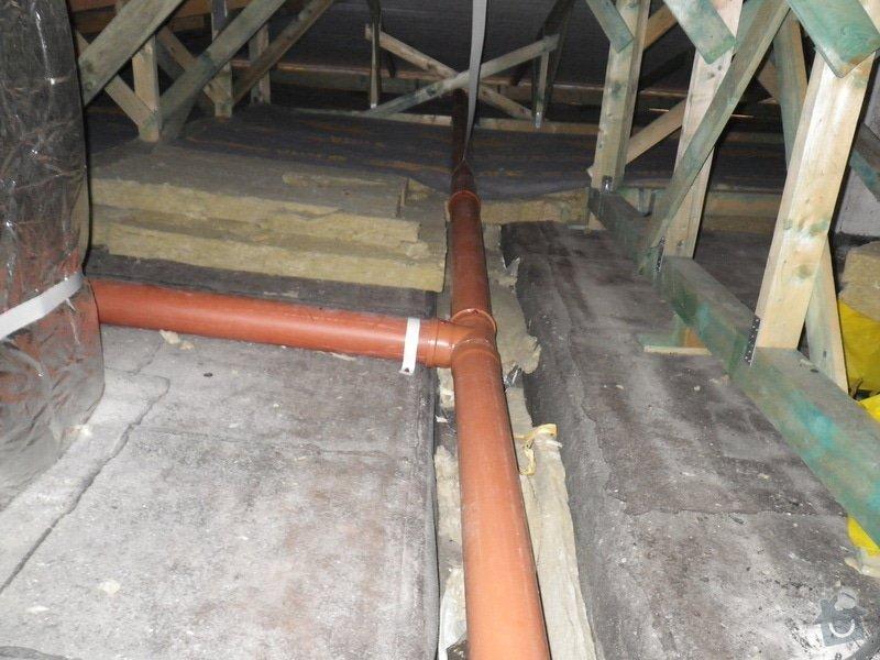 Technický dozor investora při realizaci střešní nástavby: IMGP7420