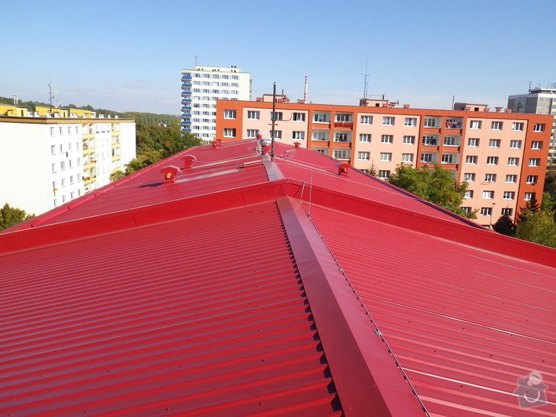 Technický dozor investora při realizaci střešní nástavby: IMGP7804