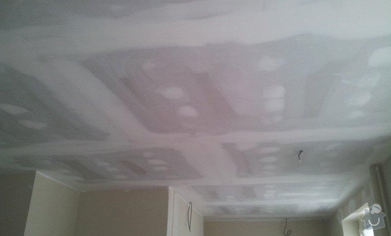Oprava stropu a drobné úpravy elektro v bytě: 20130213_131438