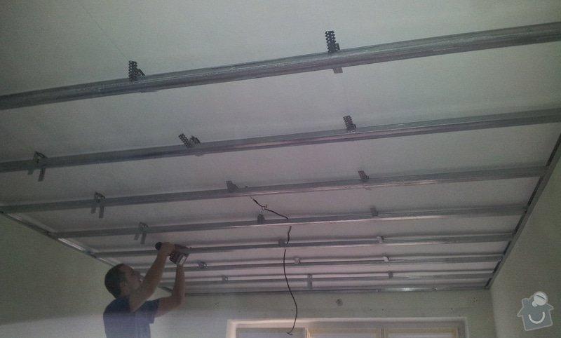 Oprava stropu a drobné úpravy elektro v bytě: 20130211_114228