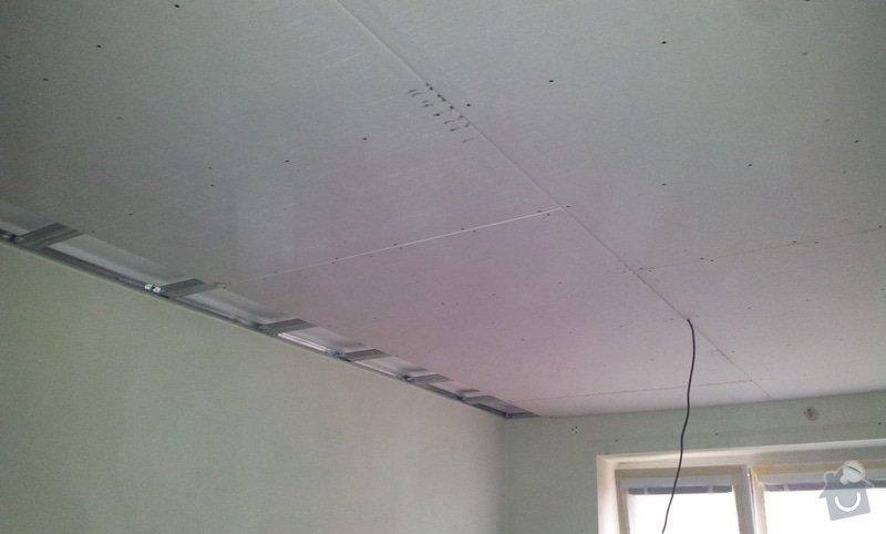 Oprava stropu a drobné úpravy elektro v bytě: 20130211_121900