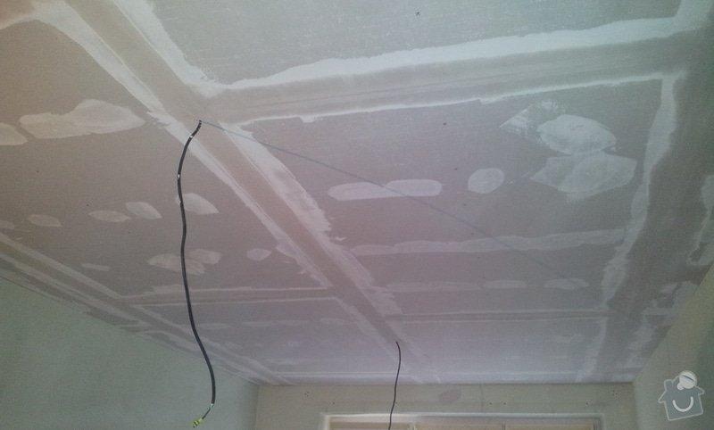 Oprava stropu a drobné úpravy elektro v bytě: 20130211_142046