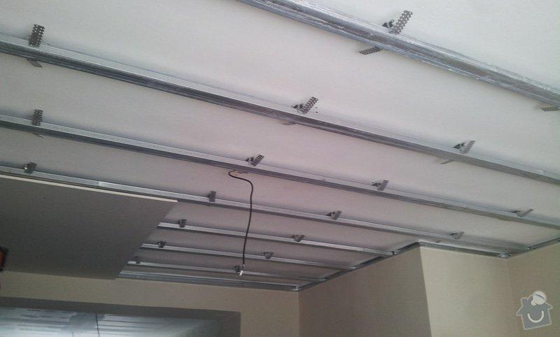 Oprava stropu a drobné úpravy elektro v bytě: 20130212_130929