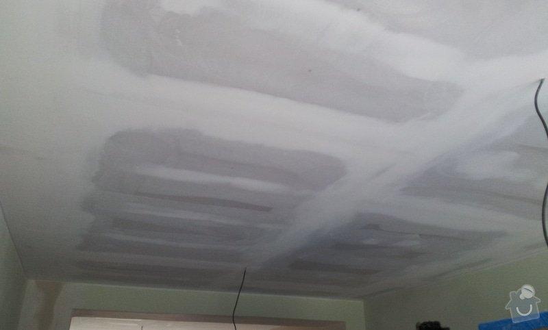 Oprava stropu a drobné úpravy elektro v bytě: 20130213_131355