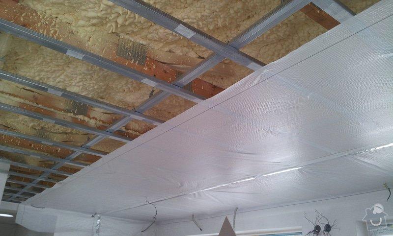 Podhled a světelné rampy v RD: 20130214_135236