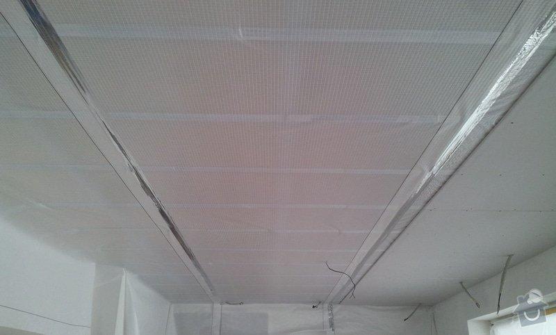 Podhled a světelné rampy v RD: 20130214_141118