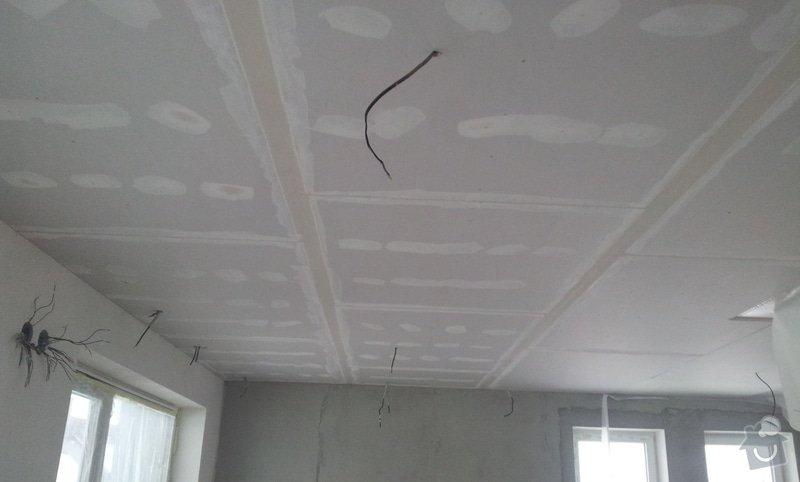 Podhled a světelné rampy v RD: 20130214_161316