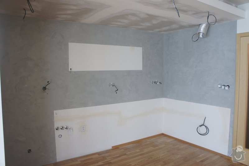 Cementová stěrka do kuchyně: 2-DSC07637