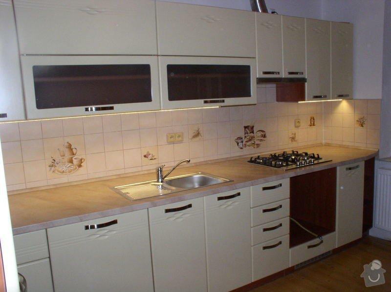 Výroba a montáž kuchyňské linky: RD_Zabcice_1_