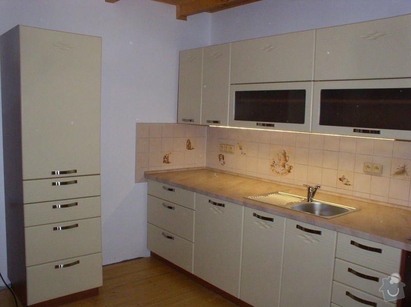 Výroba a montáž kuchyňské linky: RD_Zabcice_2_
