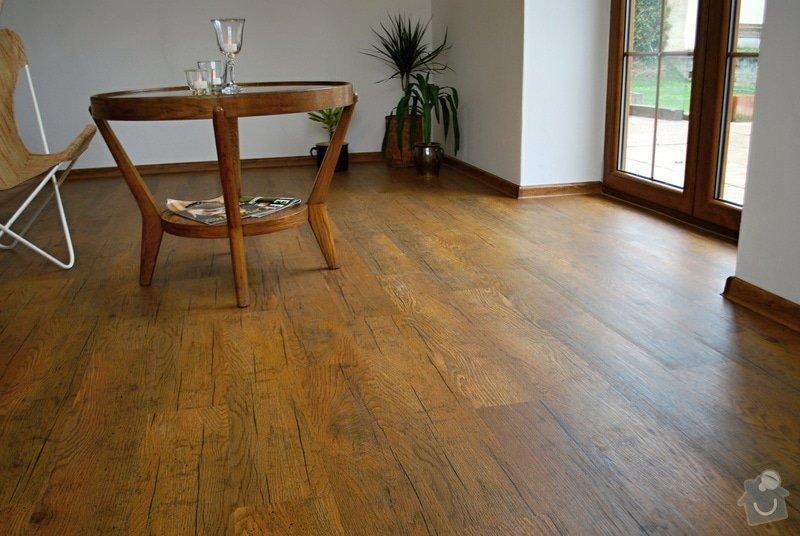 Pokládka vinylové podlahy - podlahář: DSC_0268