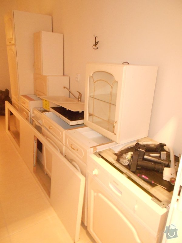 Montáž kuchyňské linky: DSCN1889