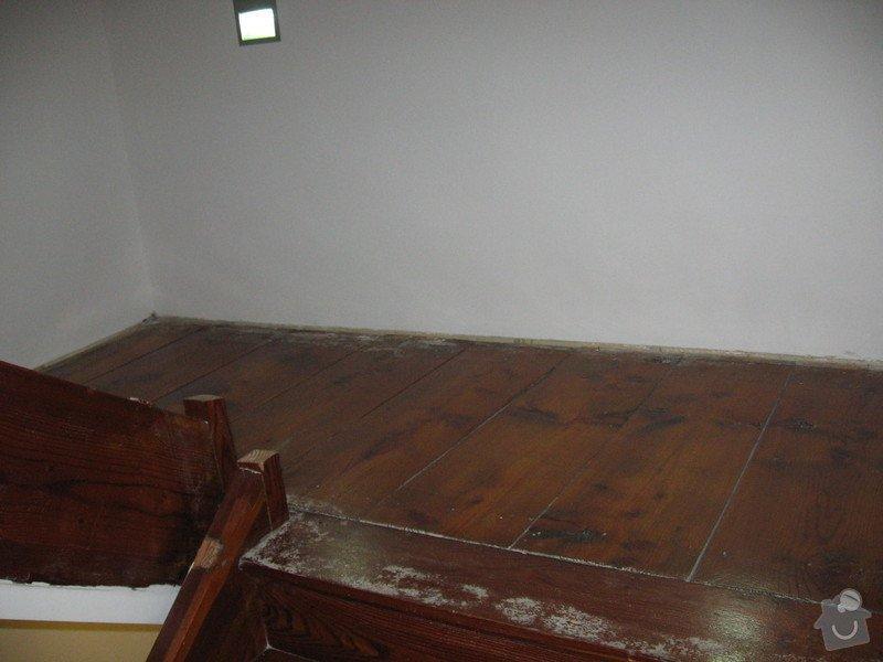 Rekonstrukci dřevěnného schodiště : IMG_7703