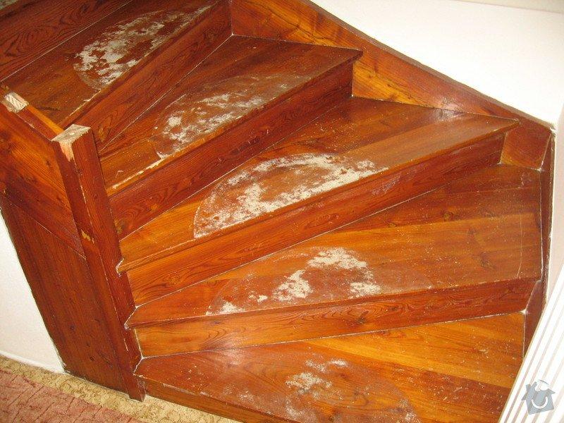 Rekonstrukci dřevěnného schodiště : IMG_7705