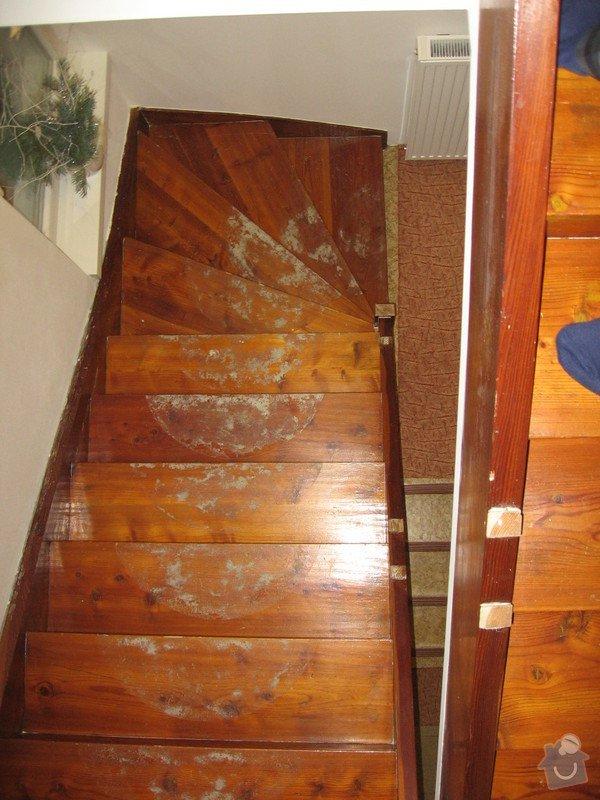 Rekonstrukci dřevěnného schodiště : IMG_7709