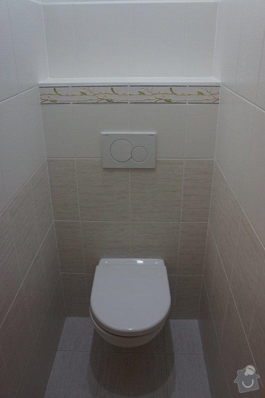 Rekonstrukce bytového jádra: wc