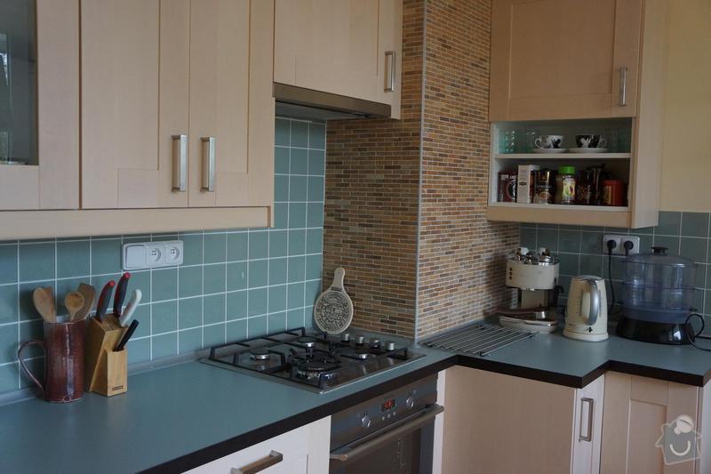 Rekonstrukce bytového jádra: kuchyn