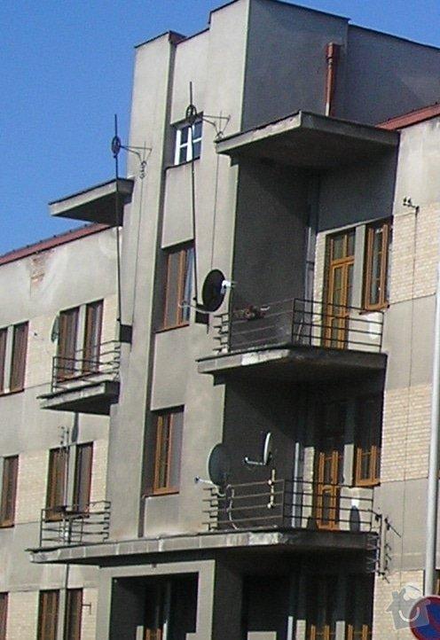 Rekonstrukce 6ks balkónů: balkony1