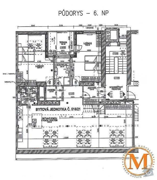 Návrh a realizace šatny v půdnim bytě: obr2