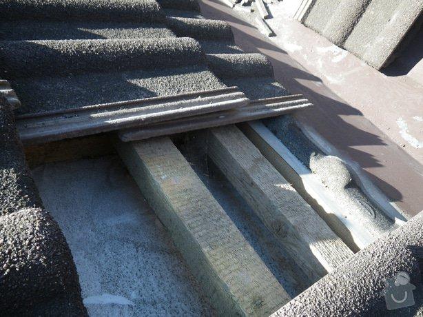 Odborné posouzení stavu střechy a technický dozor investora při provádění navržených nápravných opatření: IMGP9948