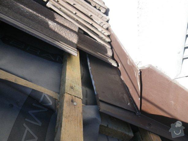 Odborné posouzení stavu střechy a technický dozor investora při provádění navržených nápravných opatření: IMGP9958