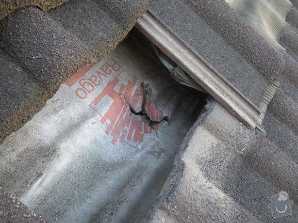 Odborné posouzení stavu střechy a technický dozor investora při provádění navržených nápravných opatření: IMGP9977
