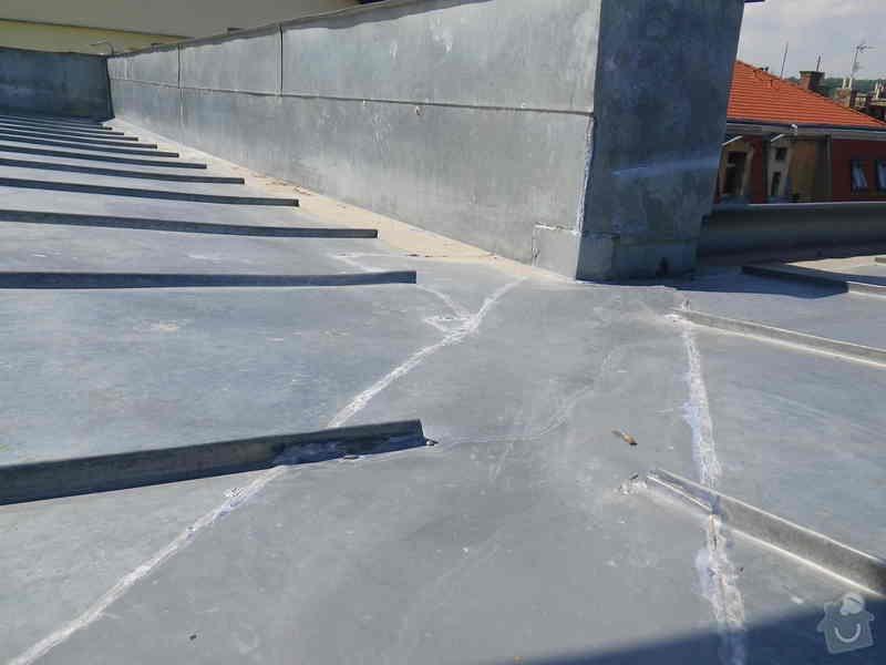 Odborné posouzení, návrh nápravných opatření a technický dozor investora při opravě střešního pláště: IMGP6929