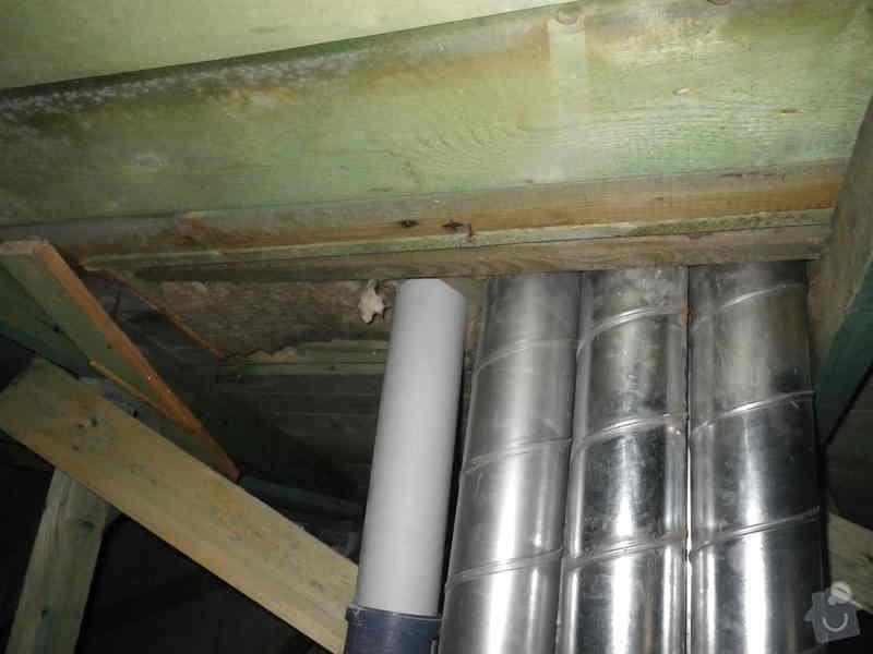 Odborné posouzení, návrh nápravných opatření a technický dozor investora při opravě střešního pláště: IMGP6977