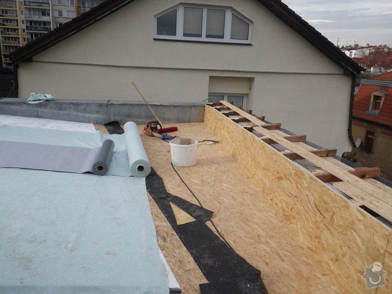 Odborné posouzení, návrh nápravných opatření a technický dozor investora při opravě střešního pláště: IMGP8672