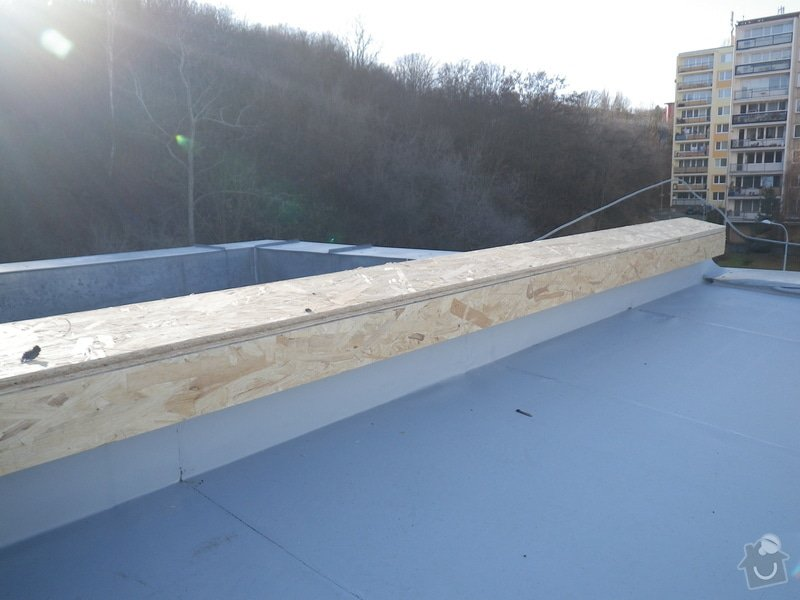 Odborné posouzení, návrh nápravných opatření a technický dozor investora při opravě střešního pláště: IMGP8717