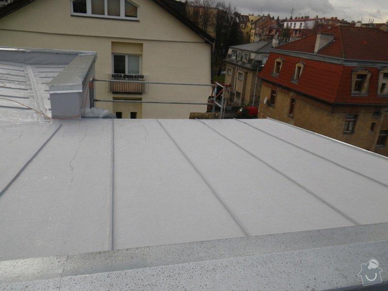 Odborné posouzení, návrh nápravných opatření a technický dozor investora při opravě střešního pláště: IMGP8797
