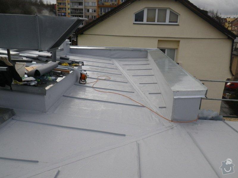 Odborné posouzení, návrh nápravných opatření a technický dozor investora při opravě střešního pláště: IMGP8799