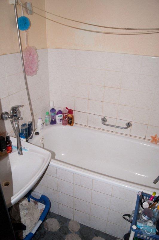 Částečná rekonstrukce malé koupelny: DSC02000