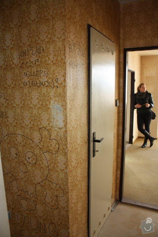 Rekonstrukce panelákového bytu 3+1, 65 m2: 2013_02_08_Kamyk_Psencikova_-_005