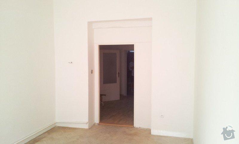 Rekonstrukce topeni, elekticke rozvody, koupelna: Pohled_do_predsine