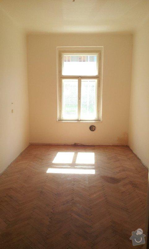Rekonstrukce topeni, elekticke rozvody, koupelna: Pokoj1