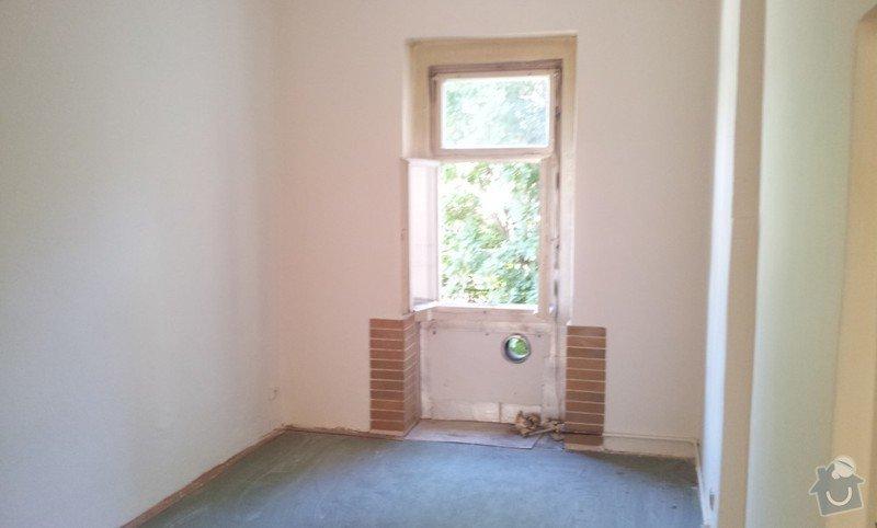 Rekonstrukce topeni, elekticke rozvody, koupelna: Pokoj3