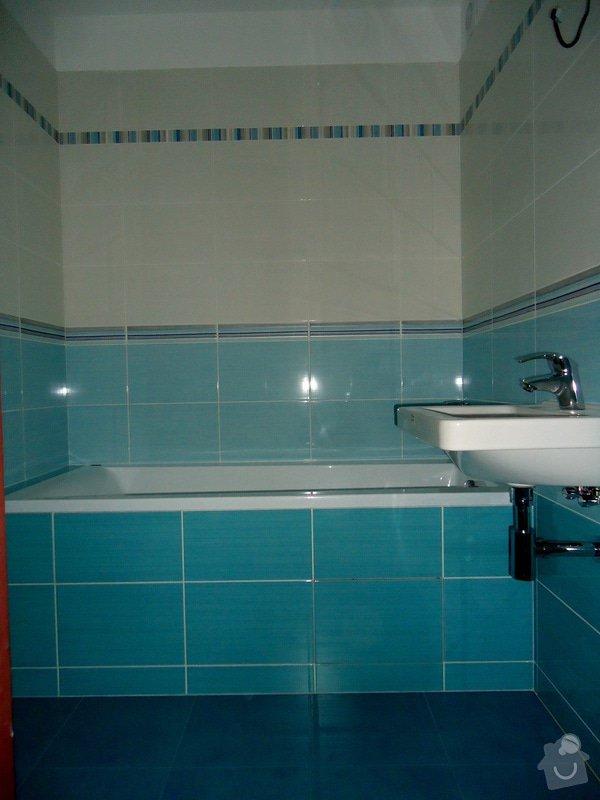 Bytové jádro, rek.koupelny, WC a chodby: 001
