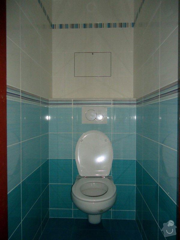Bytové jádro, rek.koupelny, WC a chodby: 002