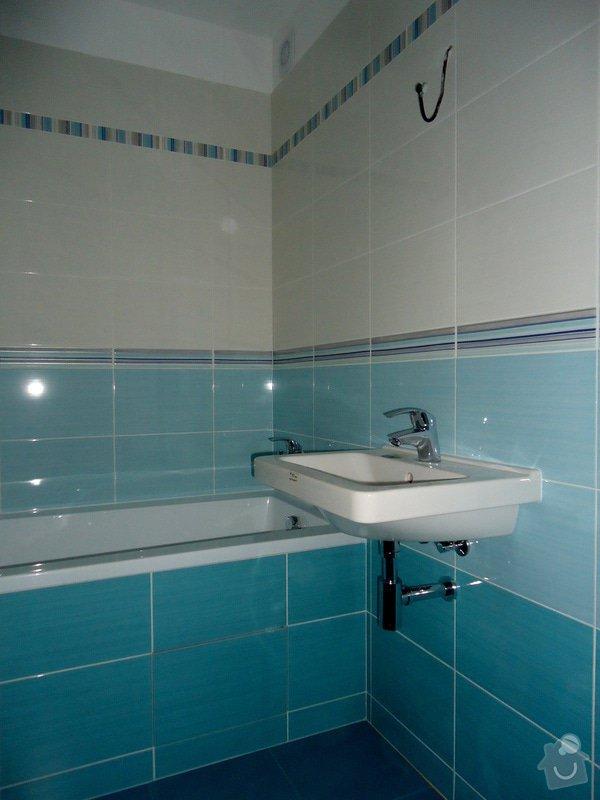 Bytové jádro, rek.koupelny, WC a chodby: 005