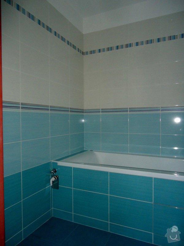 Bytové jádro, rek.koupelny, WC a chodby: 006