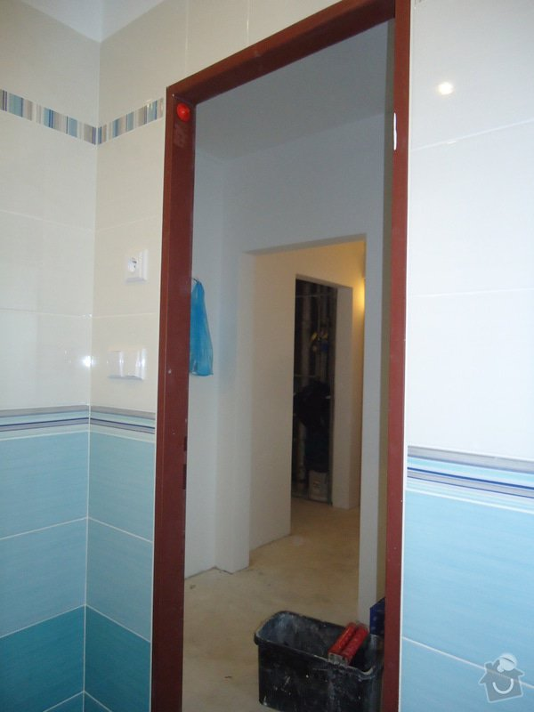 Bytové jádro, rek.koupelny, WC a chodby: 007
