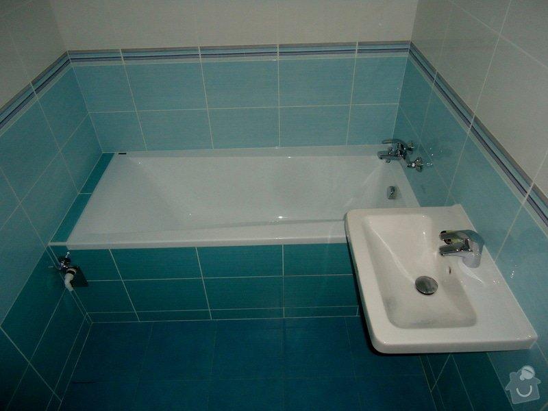 Bytové jádro, rek.koupelny, WC a chodby: 008