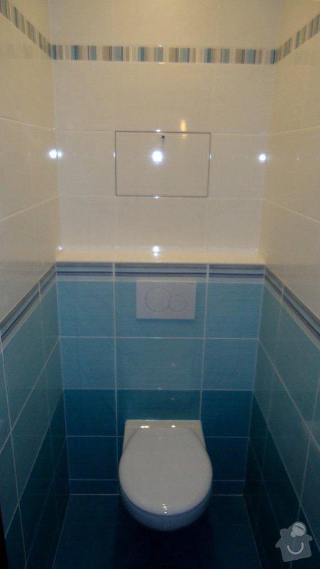 Bytové jádro, rek.koupelny, WC a chodby: 014
